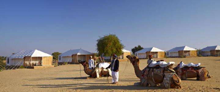 Deserto de Thar - Rajastão, Índia