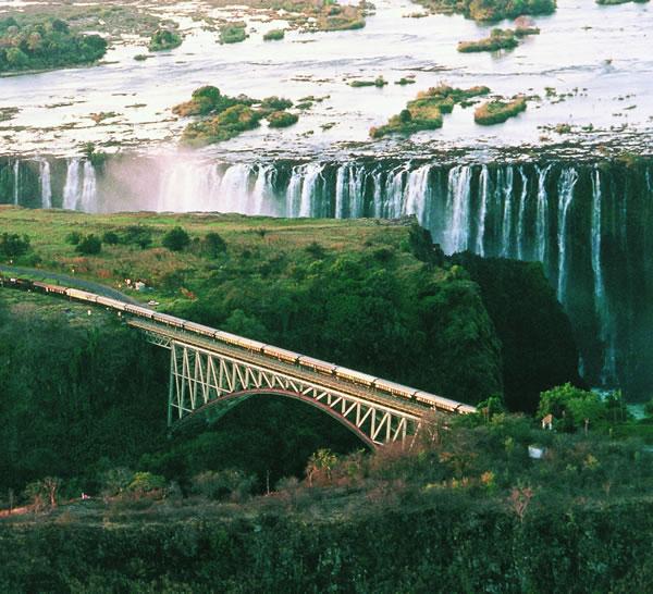 Africa do Sul - Trem Rovos Rail