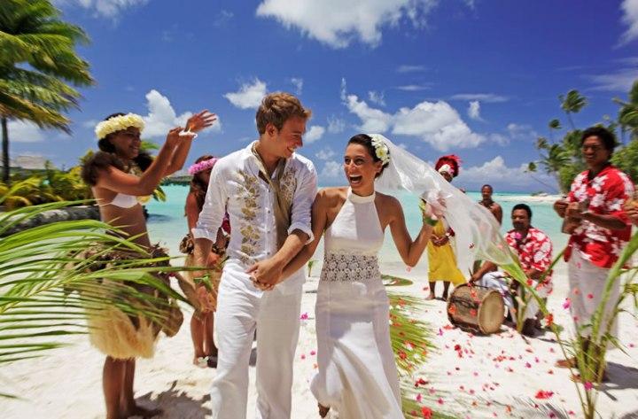 tahiti casamento
