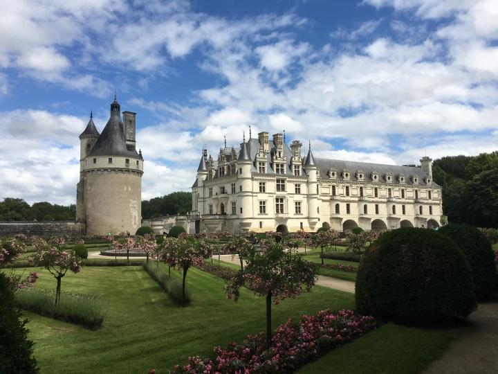 frança vale do loire - Château de Chenonceau -3098212